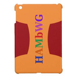 Funda Para iPad Mini HAMbyWG - estuche rígido - logotipo multicolor