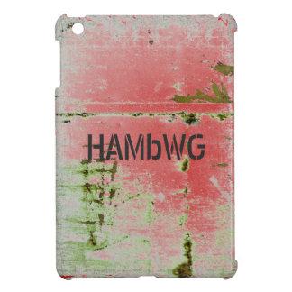 Funda Para iPad Mini HAMbyWG - estuche rígido - verde apenado