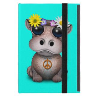 Funda Para iPad Mini Hippie lindo del hipopótamo del bebé