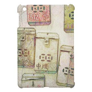 Funda Para iPad Mini Hong Kong retro: Caja metalizado de la tableta de