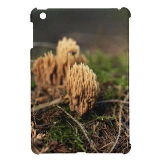 Funda Para iPad Mini Hongos coralinos de coloración verdes (abietina de