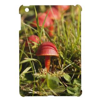 Funda Para iPad Mini Hongos de la capilla del escarlata, coccinea del