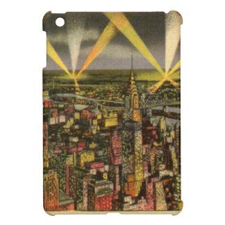 Funda Para iPad Mini Horizonte de New York City del vintage