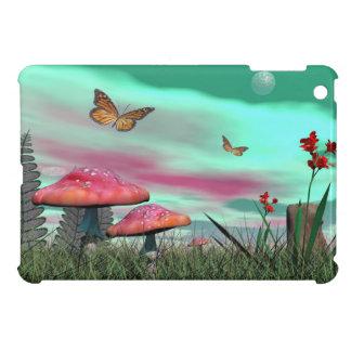 Funda Para iPad Mini Jardín de la fantasía - 3D rinden