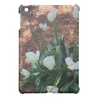 Funda Para iPad Mini Jardín de las flores blancas como la nieve del