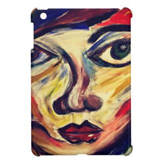 Funda Para iPad Mini La cara de la mujer abstracta
