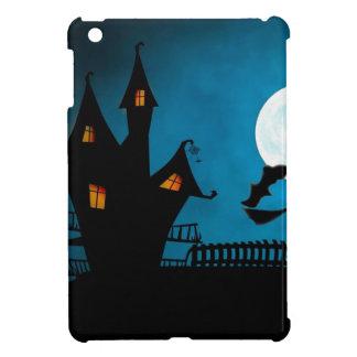 Funda Para iPad Mini La casa de la bruja de Halloween Helloween la