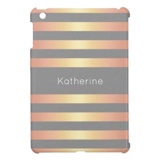 Funda Para iPad Mini La pendiente color de rosa moderna elegante del