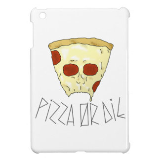 Funda Para iPad Mini La pizza o muere