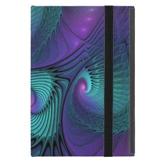 Funda Para iPad Mini La púrpura resuelve arte abstracto moderno del