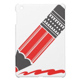 Funda Para iPad Mini lápiz rojo