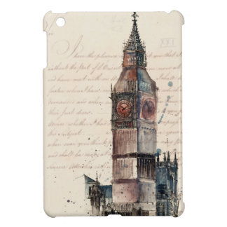 Funda Para iPad Mini Letras de Big Ben