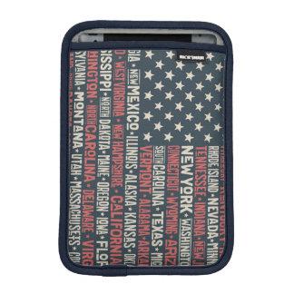 Funda Para iPad Mini Los Estados Unidos de América  States y capitales