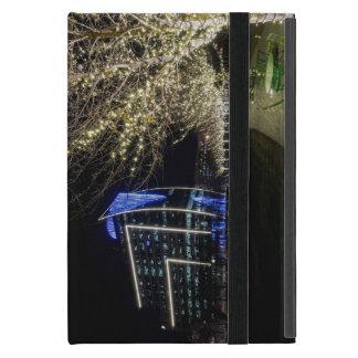 Funda Para iPad Mini Luces del árbol en el parque de Klyde Warren