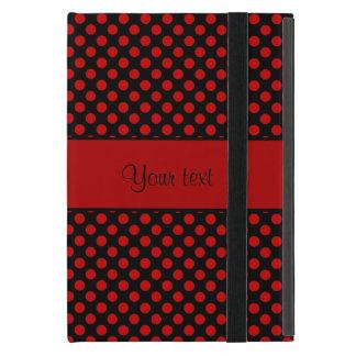 Funda Para iPad Mini Lunares rojos