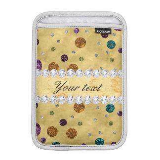 Funda Para iPad Mini Lunares y diamantes del brillo