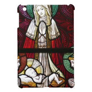Funda Para iPad Mini Madre Maria y Jesús de Vitrage del navidad