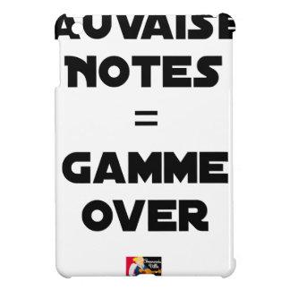 Funda Para iPad Mini MALAS NOTAS = GAMA OVER - Juegos de palabras