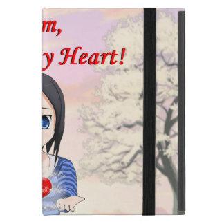Funda Para iPad Mini Mamá, usted es mi corazón (el personalizable)