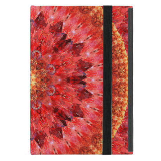 Funda Para iPad Mini Mandala cristalina del fuego