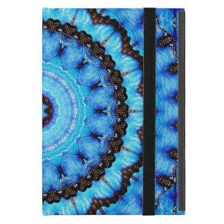 Funda Para iPad Mini Mandala del azul de la mariposa