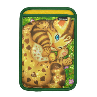 Funda Para iPad Mini Mangas del iPad del gato de leopardo