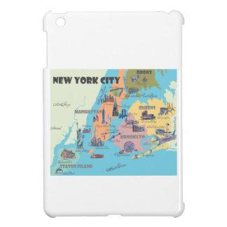 Funda Para iPad Mini Mapa de Nueva York