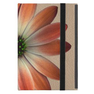 Funda Para iPad Mini Margarita coralina en el fondo de Shell