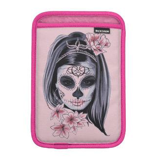 Funda Para iPad Mini Máscara del esqueleto de la mujer