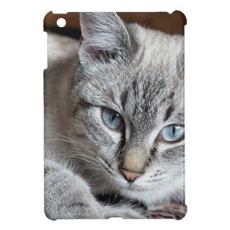 Funda Para iPad Mini Mascota de la caballa de Mieze del gatito del gato
