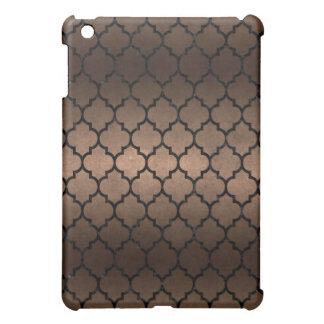 FUNDA PARA iPad MINI METAL NEGRO DEL MÁRMOL TILE1 Y DEL BRONCE (R)