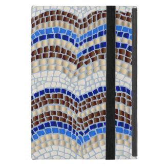 Funda Para iPad Mini Mini caso del iPad azul del mosaico sin Kickstand