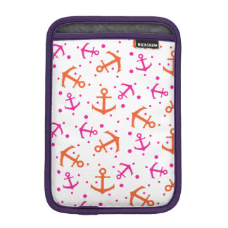 Funda Para iPad Mini Modelo anaranjado rosado náutico