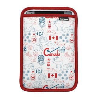 Funda Para iPad Mini Modelo de los símbolos de Canadá el |