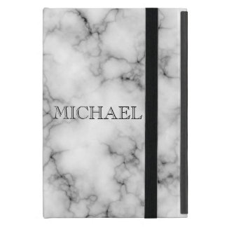 Funda Para iPad Mini Modelo de mármol blanco muy realista con el