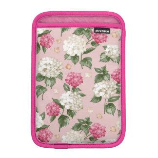 Funda Para iPad Mini Modelo inconsútil floral del Hydrangea rosado