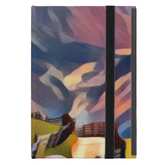 Funda Para iPad Mini moderno, dadaism, digital, pintura, colorida,
