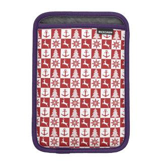 Funda Para iPad Mini Navidad náutico