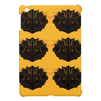 Funda Para iPad Mini Negro del oro de los elementos del diseño/edición