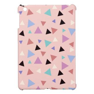 Funda Para iPad Mini Negro púrpura de la menta del rosa geométrico