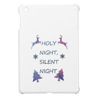 Funda Para iPad Mini Noche santa, noche silenciosa