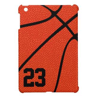 Funda Para iPad Mini Número o letra del jersey del jugador de básquet o