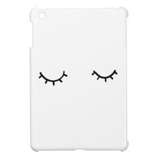 Funda Para iPad Mini Ojos cerrados, apenas pestañas