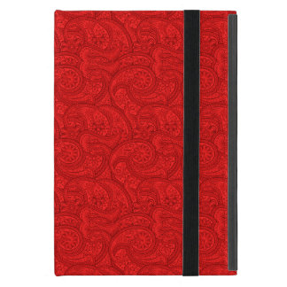 Funda Para iPad Mini Paisley roja