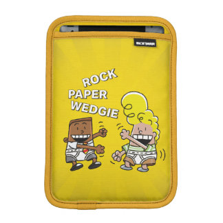 Funda Para iPad Mini Papel Wedgie de la roca de capitán Underpants el  