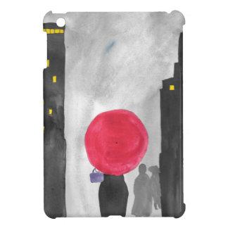 Funda Para iPad Mini Paraguas rojo