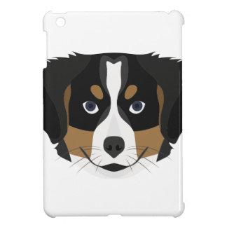 Funda Para iPad Mini Perro de montaña de Bernese del ilustracion