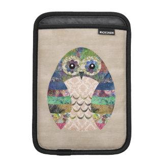 Funda Para iPad Mini Personalizado bohemio del pájaro de Boho del búho