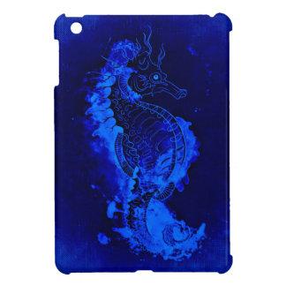 Funda Para iPad Mini Pintura azul del Seahorse