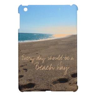 Funda Para iPad Mini Playa con cita